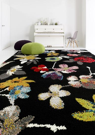 aus wolle seide mischgewebe aktuelle teppiche. Black Bedroom Furniture Sets. Home Design Ideas