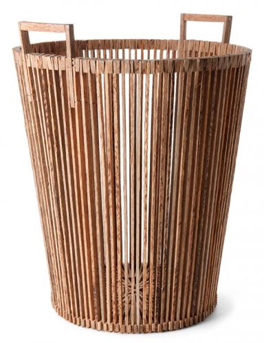 accessoires korb aus hellem palmholz bild 13 sch ner. Black Bedroom Furniture Sets. Home Design Ideas