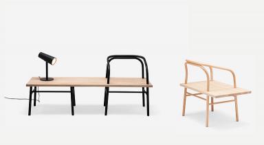 table bench chair von established and sons bild 9 sch ner wohnen. Black Bedroom Furniture Sets. Home Design Ideas