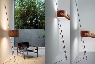 leuchte zum anlehnen von lumini bild 14 sch ner wohnen. Black Bedroom Furniture Sets. Home Design Ideas