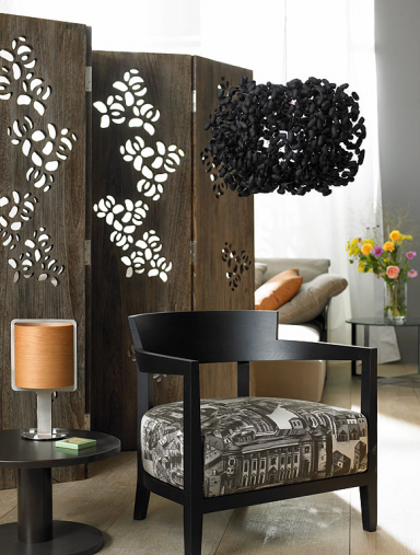 20 deko tipps paravent als raumteiler bild 17 sch ner wohnen. Black Bedroom Furniture Sets. Home Design Ideas