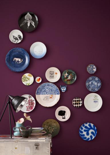 20 deko tipps dekorieren mit wandtellern bild 19 sch ner wohnen. Black Bedroom Furniture Sets. Home Design Ideas