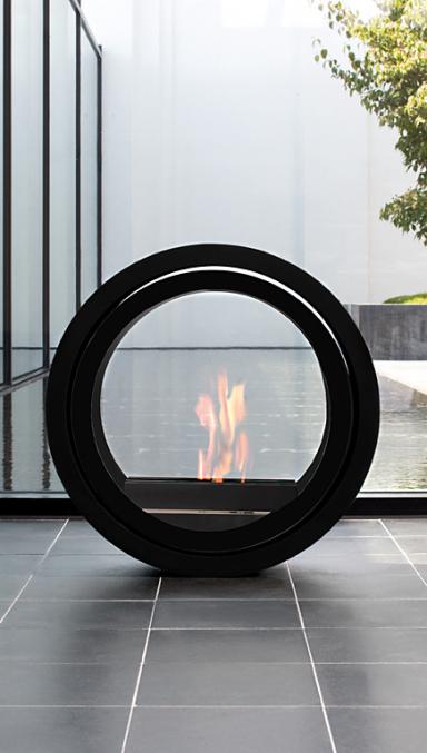 Contemporary Living Bioethanol-Ofen Kokka Wei/ß