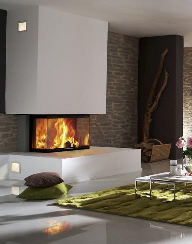 modulares kaminsytem elements von skantherm kamine und. Black Bedroom Furniture Sets. Home Design Ideas