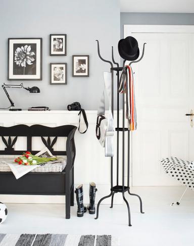 wohnen mit farben schwarz wei bild 8 sch ner wohnen. Black Bedroom Furniture Sets. Home Design Ideas