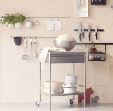 k chenhilfe flytta von ikea clever wohnen mit servierwagen 8 sch ner wohnen. Black Bedroom Furniture Sets. Home Design Ideas