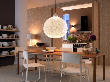 h ngeleuchte non random light von moooi beleuchtung berm esstisch 11 sch ner wohnen. Black Bedroom Furniture Sets. Home Design Ideas