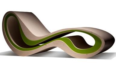 gartenliegen f r den sommer sch ner schaukeln gartenliege swing von unopi sch ner wohnen. Black Bedroom Furniture Sets. Home Design Ideas