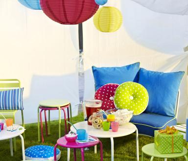 garten terrasse bunter zauber rox outdoorm bel bild 2 sch ner wohnen. Black Bedroom Furniture Sets. Home Design Ideas