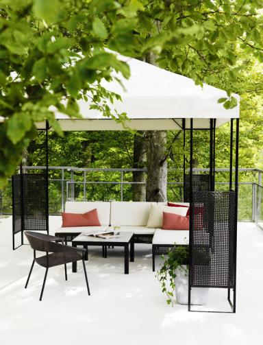 garten terrasse bei wind und wetter terrassenm bel ammer bild 10 sch ner wohnen. Black Bedroom Furniture Sets. Home Design Ideas