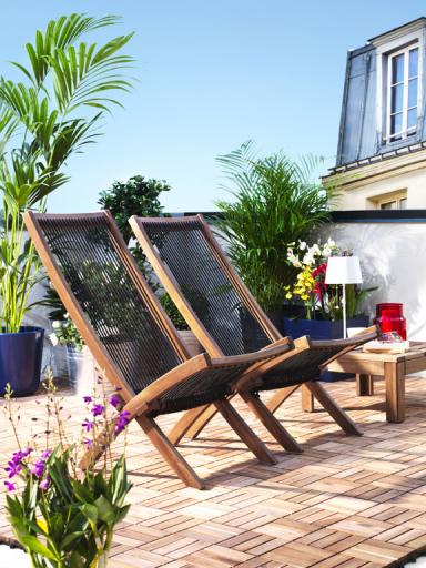 den balkon gestalten ideen und tipps sch ner wohnen. Black Bedroom Furniture Sets. Home Design Ideas