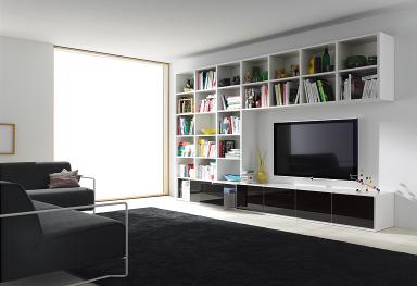 wohnwand studimo mit schwenkbarem tv bild 6 sch ner wohnen. Black Bedroom Furniture Sets. Home Design Ideas