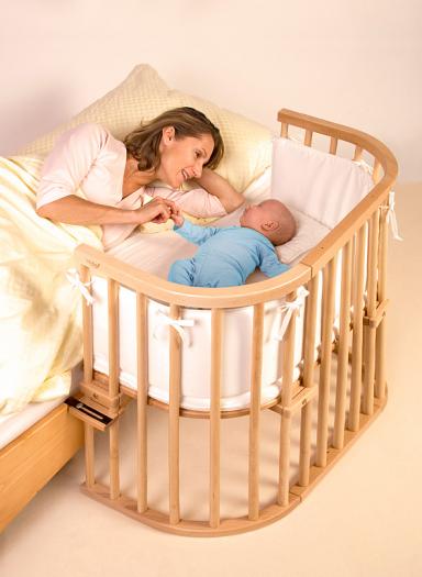 gemeinsam schlafen mit babybay bild 11 sch ner wohnen. Black Bedroom Furniture Sets. Home Design Ideas