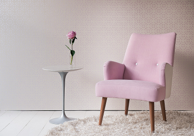 sessel rosa m belideen. Black Bedroom Furniture Sets. Home Design Ideas