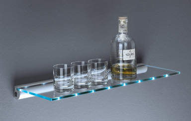 fotostrecke: glas-regal