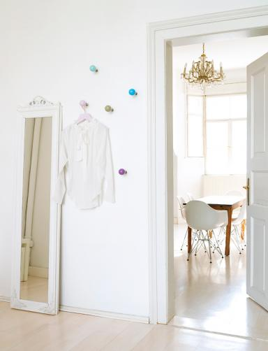 Garderobe selber bauen schner wohnen for Garderobe dots