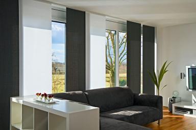 schiebegardine balia von mhz bild 6 sch ner wohnen. Black Bedroom Furniture Sets. Home Design Ideas