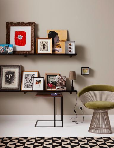 Bilderleisten: Kunst einfach abstellen