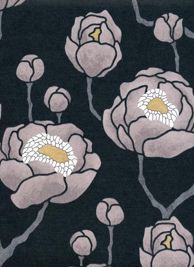 renovieren magnolie vliestapete silvana von. Black Bedroom Furniture Sets. Home Design Ideas