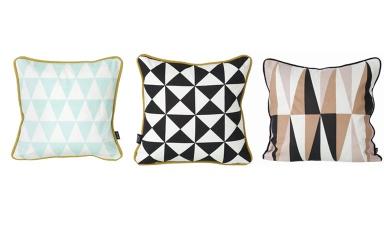 kissen little geometry und spear von ferm living bild 15 sch ner wohnen. Black Bedroom Furniture Sets. Home Design Ideas