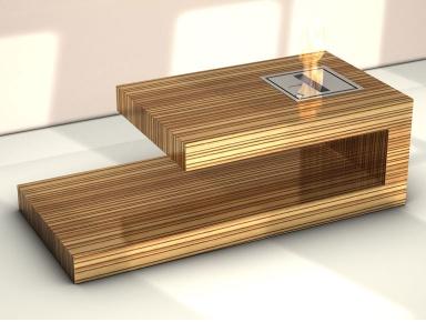 fotostrecke kamin tisch fire coffee table von berlin rodeo bild 7 sch ner wohnen. Black Bedroom Furniture Sets. Home Design Ideas