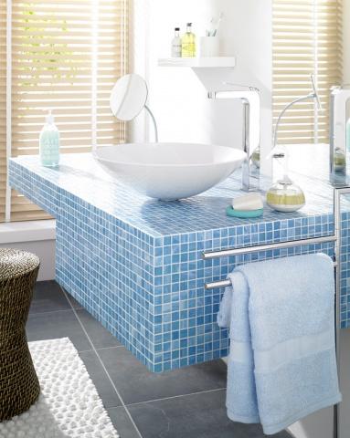 Fotostrecke: Mosaikfliesen Für Bad, Küche Und Wohnzimmer ... Mosaik Fliesen Badezimmer