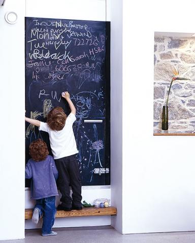 kreidetafel f r die wand alles f r die familienk che 2. Black Bedroom Furniture Sets. Home Design Ideas
