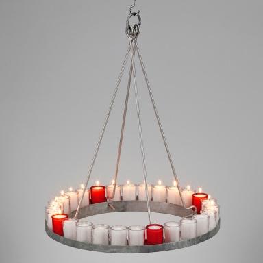 adventskranz aus stahl von manufactum 15 moderne adventskr nze 12 sch ner wohnen. Black Bedroom Furniture Sets. Home Design Ideas