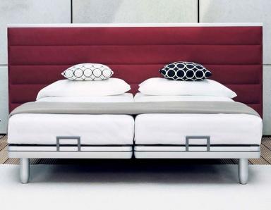 betten f r puristen sch ner wohnen. Black Bedroom Furniture Sets. Home Design Ideas