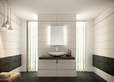 badezimmer anthrazit weis fliesen. Black Bedroom Furniture Sets. Home Design Ideas