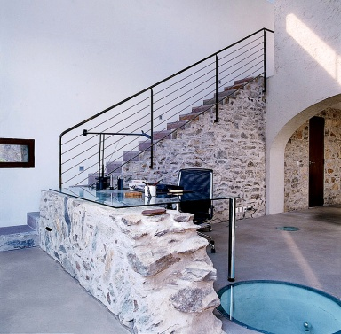 treppe auf der ehemaligen staumauer bild 5 sch ner. Black Bedroom Furniture Sets. Home Design Ideas
