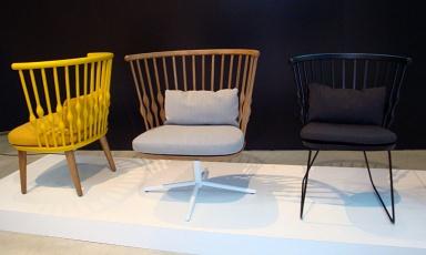 fotostrecke senfgelb mocca und schwarz bei andreu world. Black Bedroom Furniture Sets. Home Design Ideas