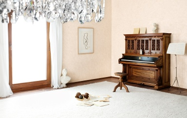wandgestaltung in marmor optik sch ner wohnen. Black Bedroom Furniture Sets. Home Design Ideas