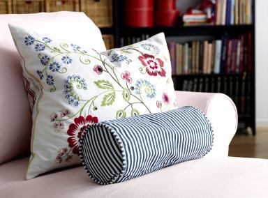 Kissenhüllen Ikea bestickte kissen aufwändige handarbeit gather and glean cushion