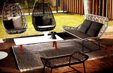 h ngesessel egg von kettal bild 14 sch ner wohnen. Black Bedroom Furniture Sets. Home Design Ideas