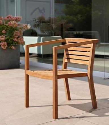 terrasse garten balkon gartenm bel aus holz sch ner wohnen. Black Bedroom Furniture Sets. Home Design Ideas
