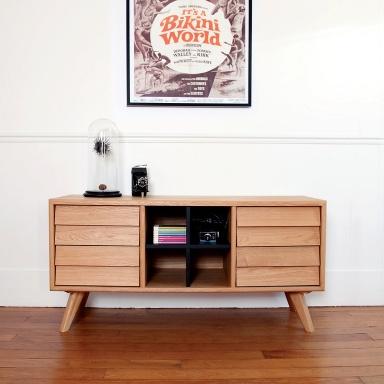 eichenholz mit schwarz bild 5 sch ner wohnen. Black Bedroom Furniture Sets. Home Design Ideas