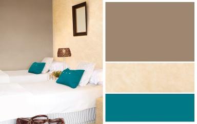 Farben kombinieren urlaub f r die seele bild 7 sch ner wohnen - Wandfarbe lagune ...