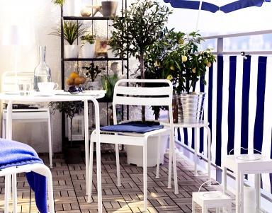 fotostrecke balkonverkleidung f r jeden stil sch ner wohnen. Black Bedroom Furniture Sets. Home Design Ideas