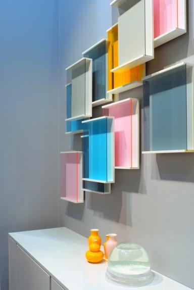 Farbtrend wohnaccessoires in neon und pastell sch ner wohnen - Wandgarten wohnzimmer ...
