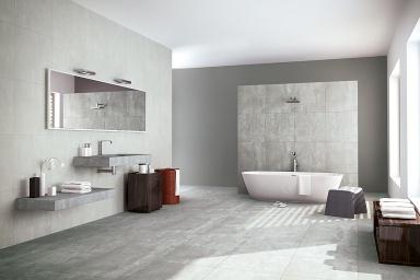 Kollektion sch ner wohnen fliesen cementi sch ner - Korkboden badezimmer ...