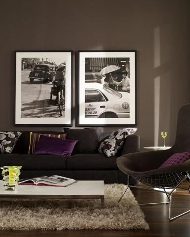 know how dunkle w nde setzen helles und buntes st rker in szene bild 14 sch ner wohnen. Black Bedroom Furniture Sets. Home Design Ideas