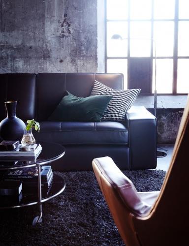 lederm bel edle klassiker sch ner wohnen. Black Bedroom Furniture Sets. Home Design Ideas