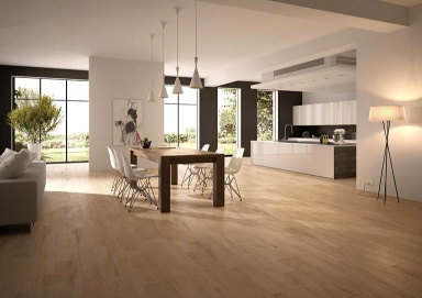 Bild 1   Wohnzimmer Fliese Holzoptik