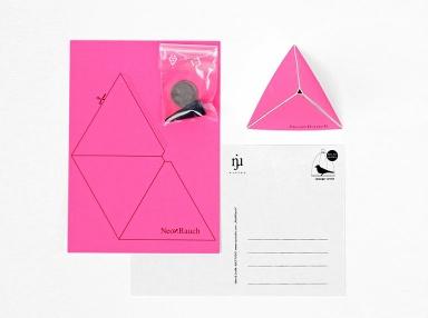 sch nes zum verschenken bastel postkarte neo n rauch. Black Bedroom Furniture Sets. Home Design Ideas