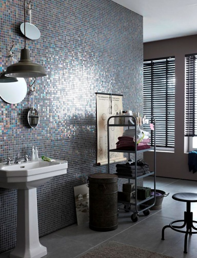badezimmer mosaik grau badezimmer blog. Black Bedroom Furniture Sets. Home Design Ideas