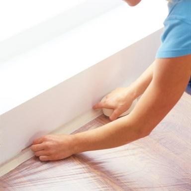 abdecken und abkleben bild 8 sch ner wohnen. Black Bedroom Furniture Sets. Home Design Ideas