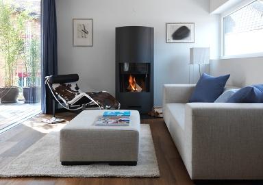 haus des jahres 2012: wohnzimmer mit dezentem farbkonzept - bild 5, Wohnzimmer