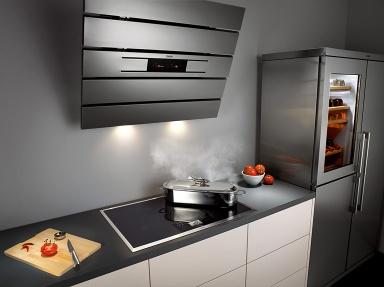 dunstabzug infos und tipps zu modernen dunstabzugshauben sch ner wohnen. Black Bedroom Furniture Sets. Home Design Ideas