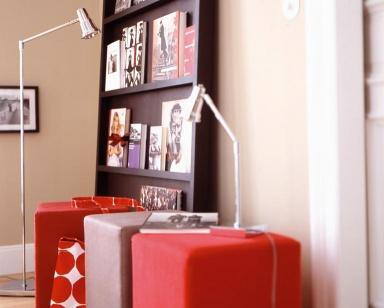 inspiration beauty look beige und rot bild 4 sch ner wohnen. Black Bedroom Furniture Sets. Home Design Ideas